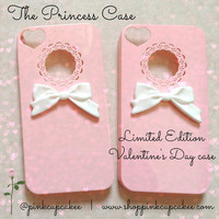 Pink Princess Bow Case-iPhone 4/4S
