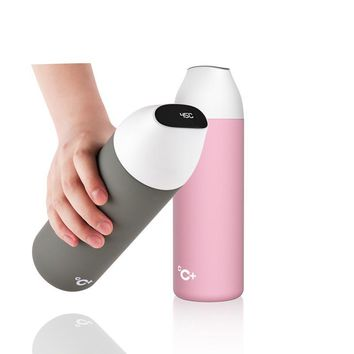 Smart Vacuum insulation bottle with 3 filter