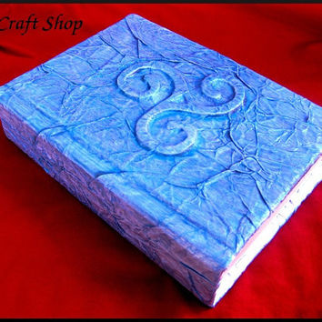 Pagan Wicca Book of Shadows 3d series Ice Age - magic paganism  - medium size  8,27x6,3 inch (22x16 cm)