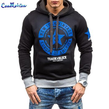 Men's Sportswear New 2017 Fashion Hooded Sweatshirts Brand Hoodies