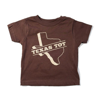 Texas Tot Brown Toddler Shirt