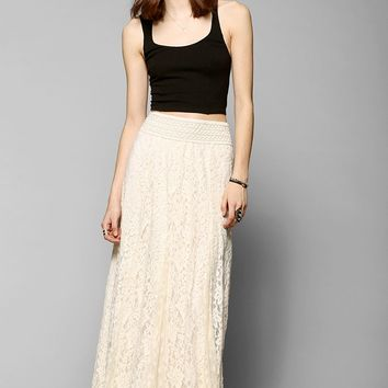 Kimchi Blue Margarita Lace Maxi Skirt - Urban Outfitters