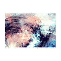 Marbled Glow Art Print