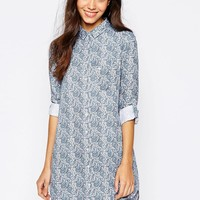Jack Wills Paisley Shirt Dress