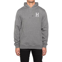 HUF - CLASSIC H PULLOVER HOODIE // GUNMETAL HEATHER