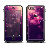 The Dark Purple with Desending Lightdrops Apple iPhone 6 LifeProof Fre Case Skin Set