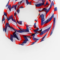 LIBERTY POINT CHEVRON LOOP SCARF