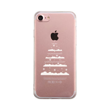 christmas tree phone case cute clear phonecase