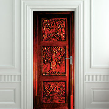 Door STICKER Narnia wardrobe Gateway /