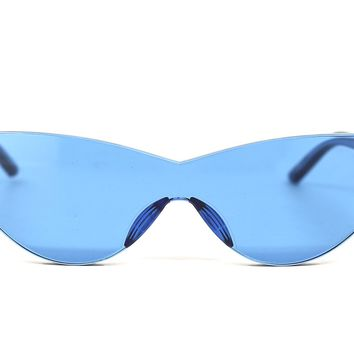 Cerulean Cat Eye Sunglasses