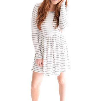 Melt Your Heart Stripe Dress