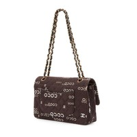 Chanel Vintage Twill Coco 2.55 Pre-owned Shoulder Bag