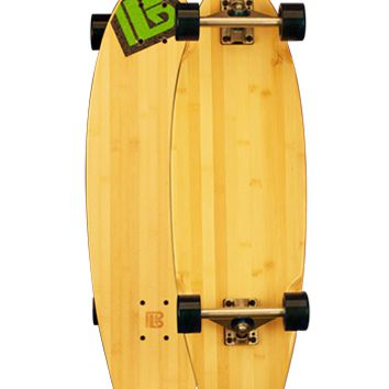 Blank Bat Tail Longboard