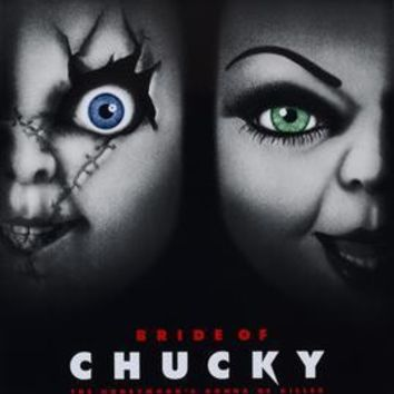 Bride Of Chucky movie poster Sign 8in x 12in