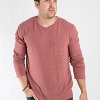 Long Sleeve Hemp Tee - Harvard
