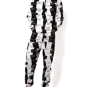 Cards Against Humanity Onesuit