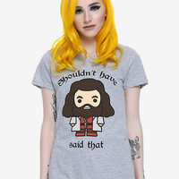 Harry Potter Chibi Hagrid Shouldn't Have Said That Girls T-Shirt