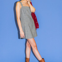 Baby Houndstooth Tank Dress