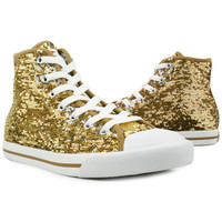 Laker Gold High Top
