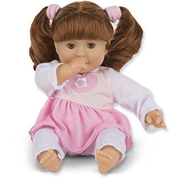 Melissa & Doug Mine to Love Brianna 12-Inch Soft Body Baby Doll with Hair and Outfit