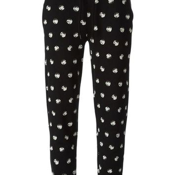 Moschino Cheap & Chic Printed Track Pant