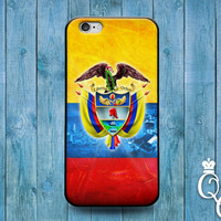 iPhone 4 4s 5 5s 5c 6 6s plus + iPod Touch 4th 5th 6th Generation Red Yellow Blue Country Flags South America Colombia Flag Case Phone Cover