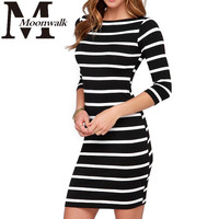 Women Slimming Wrap Body con Dress