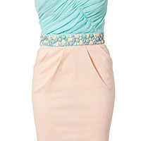 Bandeau Waist Trim Dress, Elise Ryan (Cost is £ 499....convert to US)