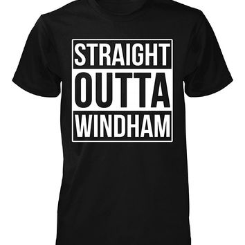 Straight Outta Windham County. Cool Gift - Unisex Tshirt