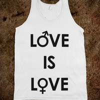 Love is Love - Fashionista | Skreened T-shirts