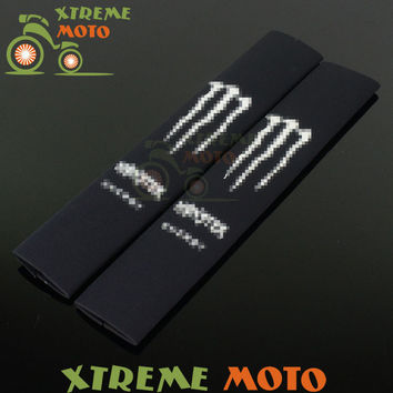 350MM Front Fork Shock Absorber Dustproof Cover Protector Guard Wrap Cover Set For CR CRF YZ YZF WR KTM RMZ RM RMX Motocross