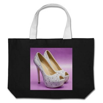 Glamour High Heels Jumbo Tote Bag
