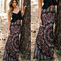 *ONLINE EXCLUSIVE* Printed Maxi Skirt