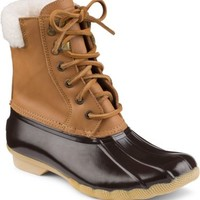 Sperry Top-Sider Shearwater Duck Boot Cognac/Brown, Size 11M  Women's Shoes