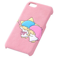 RAY OUT Little Twin Stars Kiki Lala Embossed iPhone 5 5S Fake Leather Cover Case JAPAN
