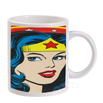 Gift Mugs | Wonder Woman Beautiful Face Ceramic Coffee Mugs