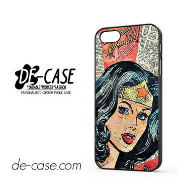 Wonder Woman Superhero Comic Book For Iphone 5 Iphone 5S Case Phone Case Gift Present
