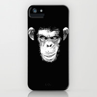 Evil Monkey iPhone & iPod Case by Nicklas Gustafsson