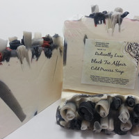 Homemade Soap, Black Tie Fragrance, Hemp Soap, Homemade Cold Process Soap,
