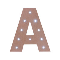 Make Market™ LED Letter, 7""