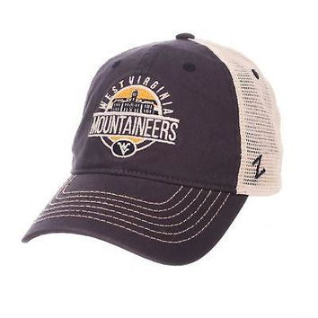 Licensed West Virginia Mountaineers Official NCAA Memorial Adjustable Hat Cap by Zephyr KO_19_1