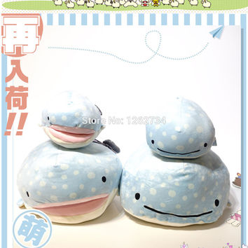 "8"" Jinbei San Whale Shark mini Plush Doll Mascot Hot Spring Japan Figure Dolls"