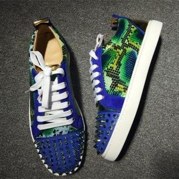 DCCK2 Cl Christian Louboutin Low Style #2038 Sneakers Fashion Shoes