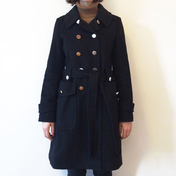 Marc By Marc Jacobs Classic Wool Trench Coat