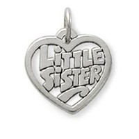 """Little Sister"" Heart Charm: James Avery"