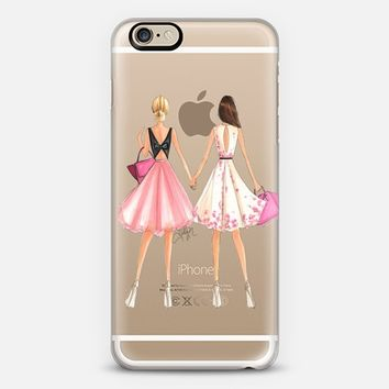 Fashion with HeART (Transparent) iPhone 6 case by H. Nichols Illustration | Casetify