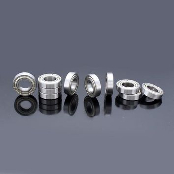 10pcs 12x24x6mm Steel Sealed Shielded Deep Groove Ball Bearings 6901