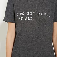 I Do Not Care Graphic Tee | Forever 21 - 2000160392
