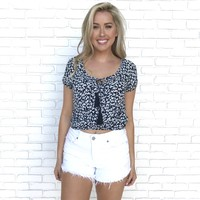 Field of Daisies Floral Blouse