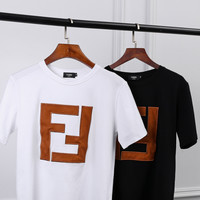 FENDI FF Cotton T-shirt